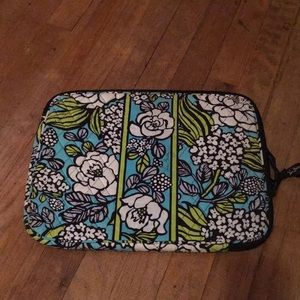 Vera Bradley Island Bloom laptop sleeve